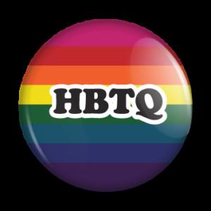 Badges med HBTQ-motiv